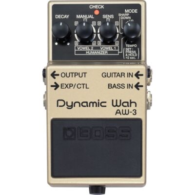 musik-lageret-viborg-BOSS AW-3 Dynamic Wah Auto-Wah Humanizer Effektpedal Til Guitar & Bas Musiklageret Viborg