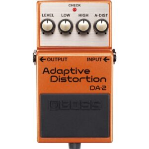 musik-lageret-viborg-BOSS DA-2 Adaptive Distortion High Gain Distortion Effektpedal Musiklageret Viborg