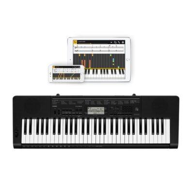 musik-lageret-viborg-Casio CTK-3500 Begynderkeyboard Keyboard 61 Anslagsfølsomme Tangenter STEP-UP Indlæring Musiklageret Viborg