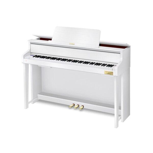 musik-lageret-viborg-Casio GP-310 WH Grand Hybrid Celviano Digital Hybrid Piano Digital Hybrid Klaver 88 Vægtede Tangenter Musiklageret Viborg