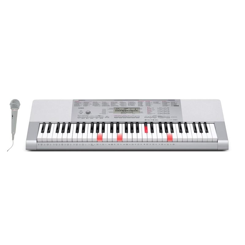 musik-lageret-viborg-Casio LK-280 Keyboard Med Sanganlæg 61 Oplyste Anslagsfølsomme Tangenter Musiklageret Viborgjpeg