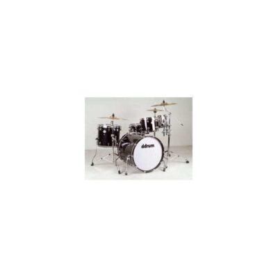 musik-lageret-viborg-Ddrum Dominion 22 Ash Black Akustisk Trommesæt Ask Trommer Musiklageret Viborg