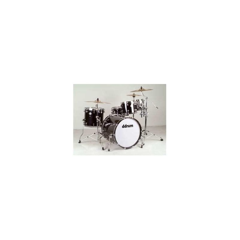 musik-lageret-viborg-Ddrum Dominion 22 Black Akustisk Trommesæt Ahorn Trommer Musiklageret Viborg