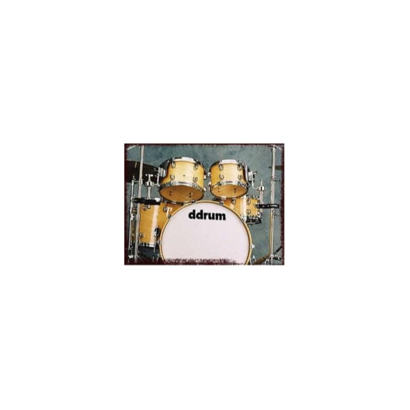 musik-lageret-viborg-Ddrum Dominion 22 Natural High Gloss Akustisk Trommesæt Ahorn Trommer Musiklageret Viborg