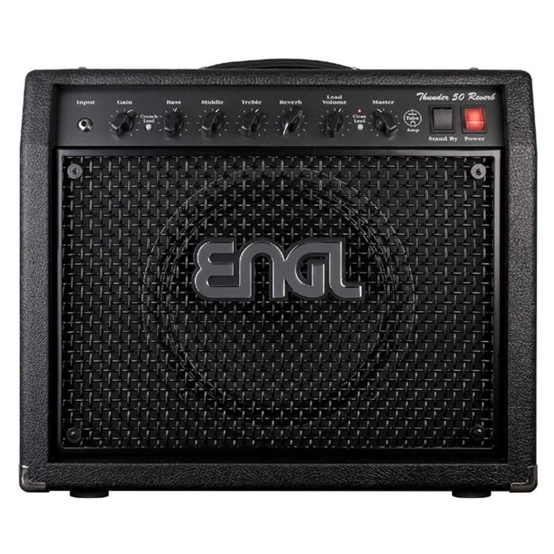 musik-lageret-viborg-Engl E320 Thunder 50 Reverb Guitarcombo Guitar Rør Forstærker 1x12 Musiklageret Viborg