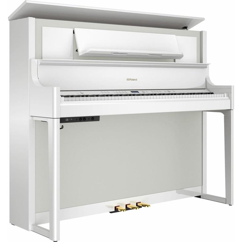 musik-lageret-viborg-Roland LX-708 PW Digital Klaver Digital Flygel Digital Piano Opretstående Musiklageret Viborg