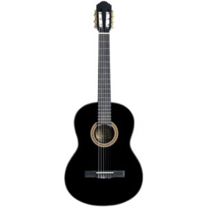 musik-lageret-viborg-Santana B8 BK v2 Klassisk Guitar Begynderguitar Nylon Strenge Musiklageret Viborg