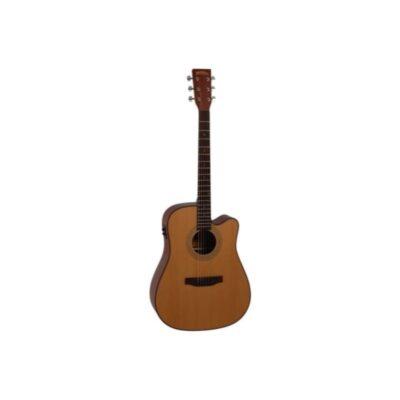 musik-lageret-viborg-Santana LA-100 CWISYS Western Guitar Elektrisk Akustisk Guitar Begynderguitar Stålstrenge Musiklageret Viborgjpeg