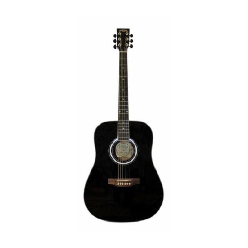 musik-lageret-viborg-Santana LA90-v2 BK Western Guitar Akustisk Guitar Begynderguitar Stålstrenge Musiklageret Viborgjpeg