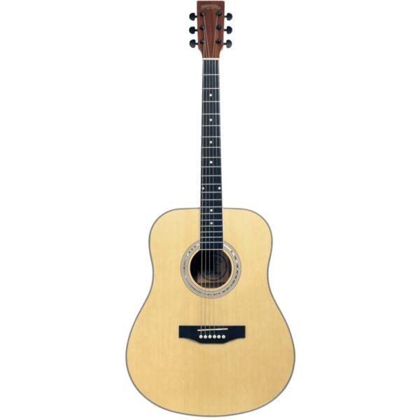 musik-lageret-viborg-Santana LA90-v2 NT Western Guitar Akustisk Guitar Begynderguitar Stålstrenge Musiklageret Viborgpng