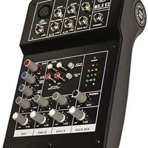 Topp Pro MX.5 Mixer Mixerpult Musiklageret Viborg