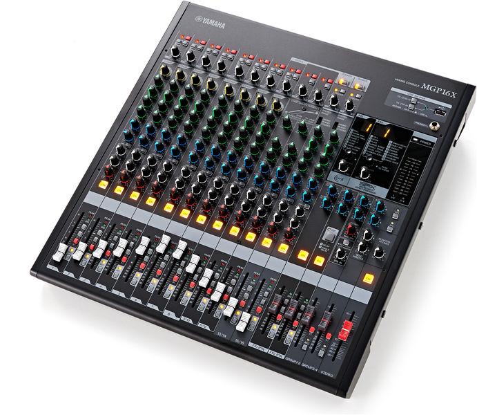 Yamaha MGP16X Mixer Mixerpult Med Effekter Musiklageret Viborg