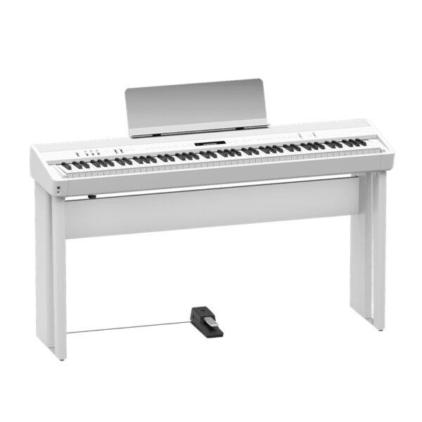 musik-lageret-viborg-Roland FP-90 WH Stagepiano Digital Piano Digital Klaver 88 Tangenter Musiklageret Viborg