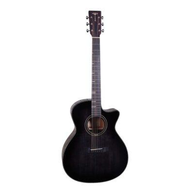 Tyma-G-10E BKS Western Guitar-Musiklageret Viborg