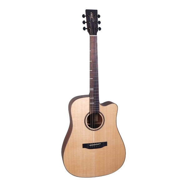 Tyma-HD3CE 350S Western Guitar-Musiklageret Viborg