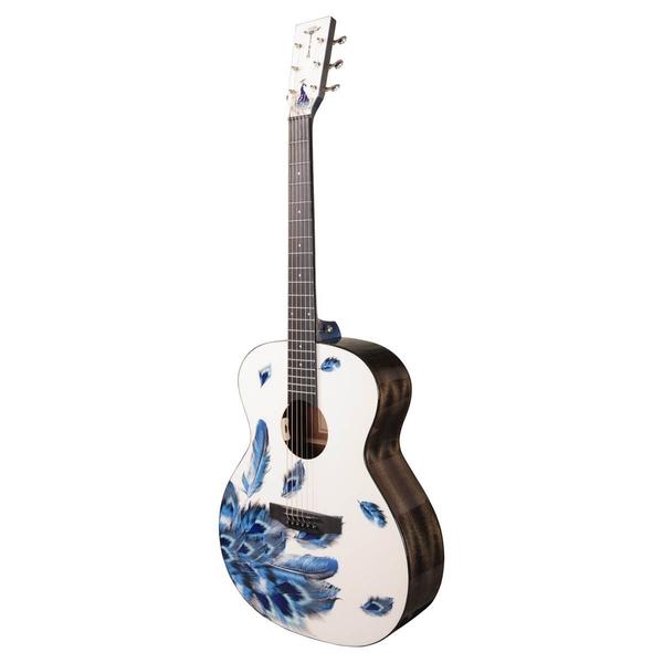 Tyma-V3E PLUM Western Guitar-Musiklageret Viborg