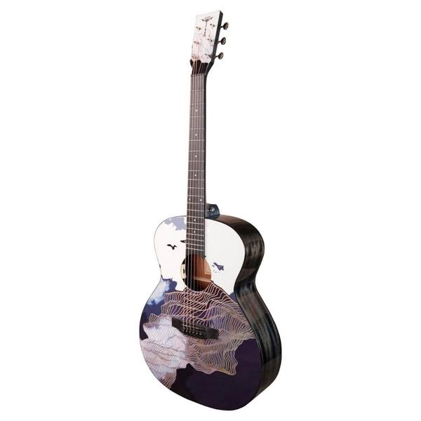 Tyma-V3E Ukiyoe Western Guitar-Musiklageret Viborg
