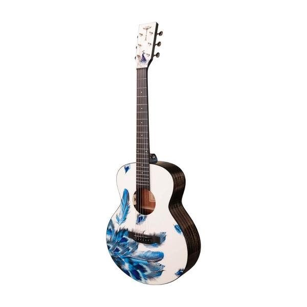 Tyma-V-3E Mini Plume Western Guitar-Musiklageret Viborg